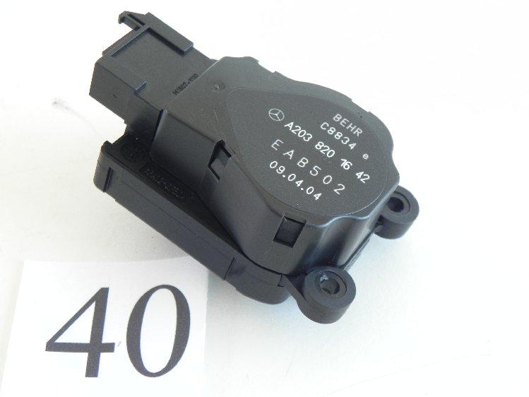 2005 Mercedes C240 Servo Damper Actuator Motor Hvac Ac Oem A2038201642 392 40 Ebay