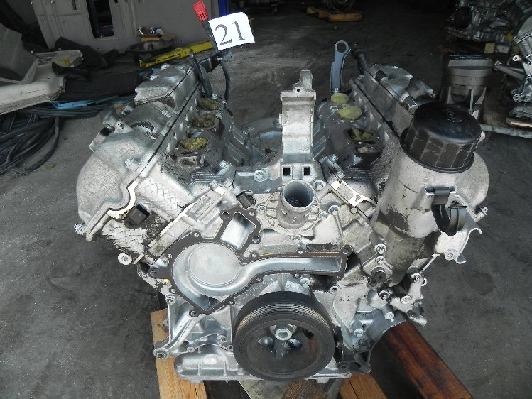 2002 mercedes benz c320 w203 engine motor 127 703k miles for Mercedes benz 3 2 v6 engine